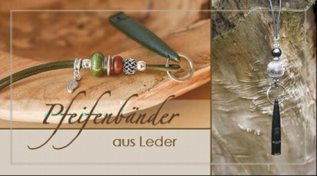 Cornelia Strunz - Pfeifenbänder aus Leder